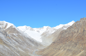 Bada Ri山群(5,520m偵察地から)
